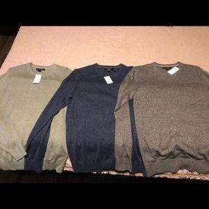 Banana Republic Silk Linen Crew Neck Sweater